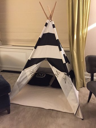 The Mark: teepee for Grace