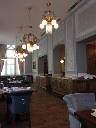 Tatranska Lomnica, Slovaquie : Breakfast room