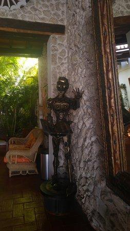 Hotel 3 Banderas: recepçao