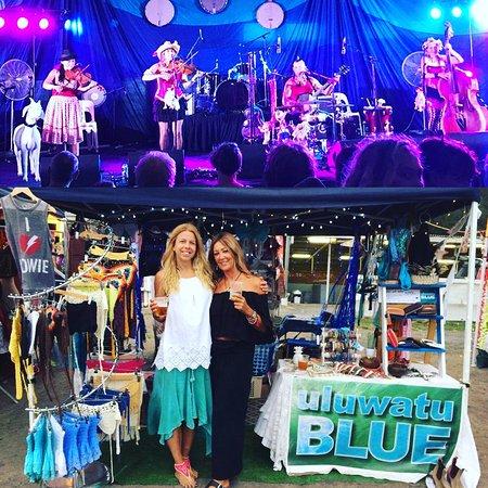 Stanwell Park, Австралия: Uluwatu Blue Stall at Illawarra Folk Festival