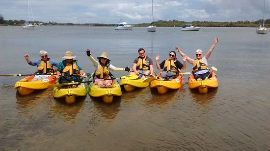Personalised guided kayak tour at Hawks Nest Tea Gardens