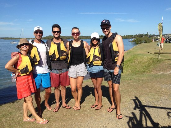 Hawks Nest, Australia: Friends who SUP together
