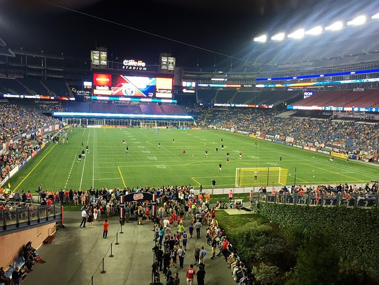 Foxboro, MA: New England Revolution game.