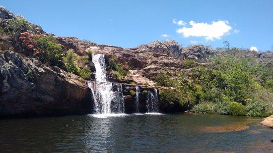 Diamantina, MG: Cachoeira dos Cristais