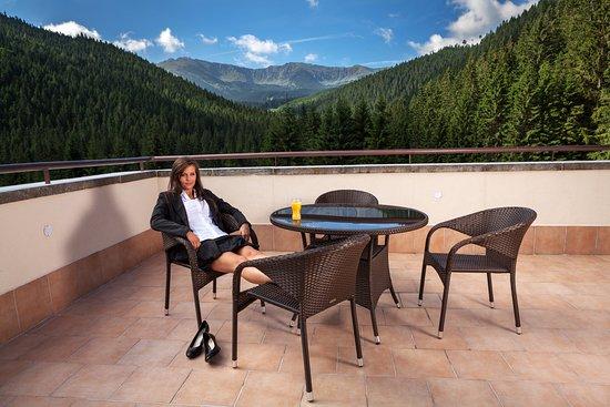 Demanovska Dolina, Eslovaquia: Letná terasa