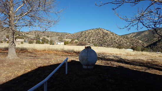 Gila Hot Springs Ranch : Doesn't look like much but it's very peaceful