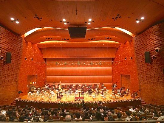 Fukuoka, Japón: FFGホール 舞台 内観