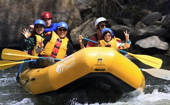 Kernville, CA: Rafting the Kern River