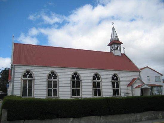 cathlic church in Stanley