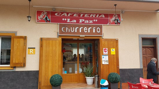 Vilaflor, Spania: Restaurante/Cafeteria La Paz