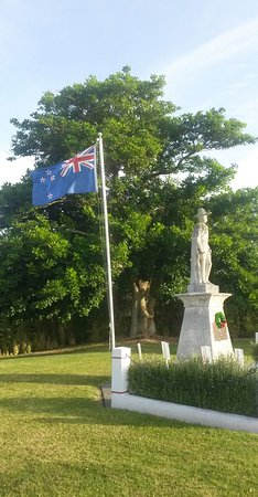 Matakana War Memorial - January 2017