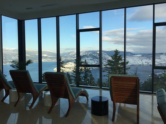 Vernon, Kanada: Tea Room view