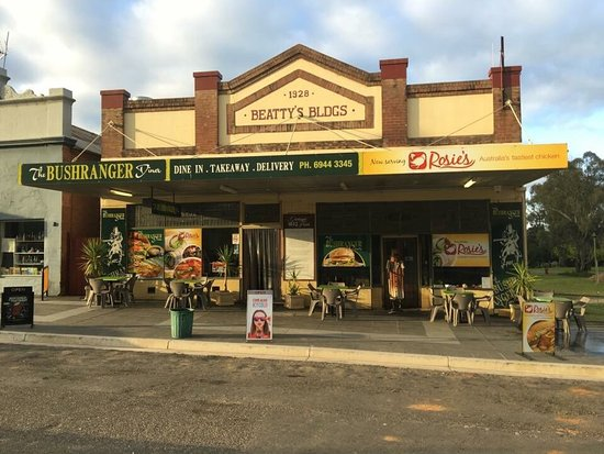 Gundagai, Australia: Just a few photos of the place including a menu! The place is due for maintenance in February so
