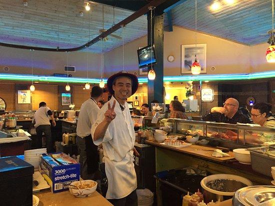 Samurai Sushi: Richard, Awesome Sushi Chef