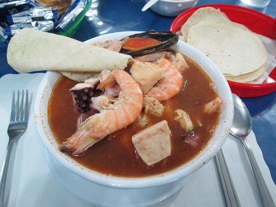 San Ysidro, Kalifornien: 7 Mares Soup