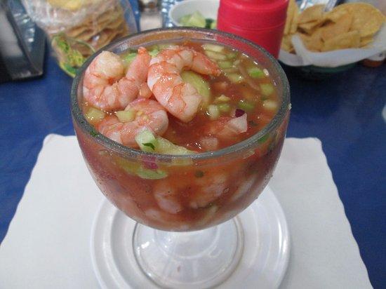 San Ysidro, Kalifornien: Shrimp Cocktail