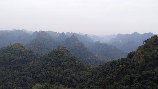 Hai Phong, Vietnam: Cat Ba National park view