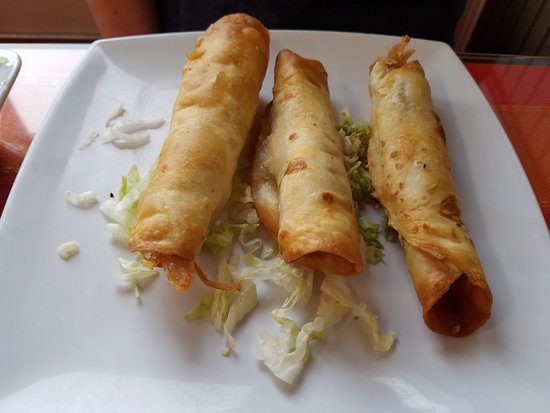 Sabroso! Mexican Grill : TAQUITOS $8.95