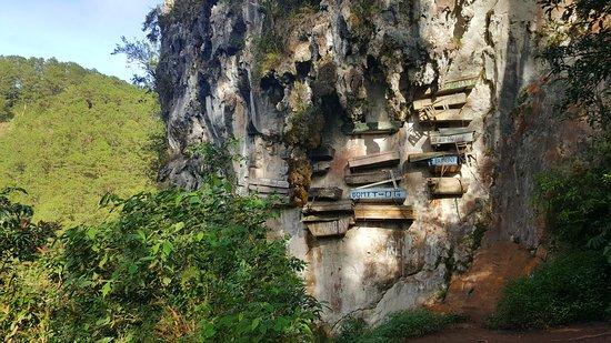 The Hanging Coffins Of Sagada