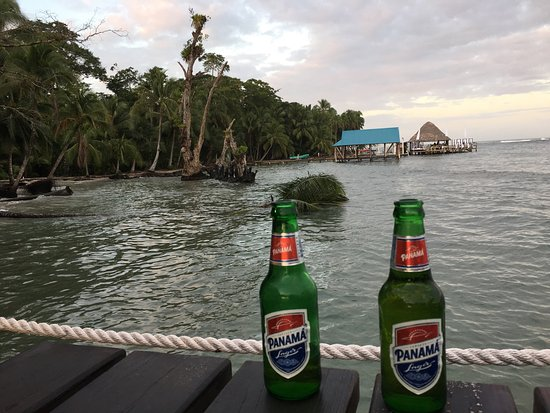 Carenero Island, Panama: Bibi's on the beach