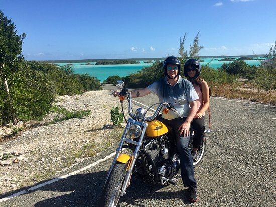 RideTCI Motorcycle Tours: Great view