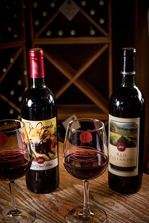 Granbury, TX: Our signature red, Rojo Grande is a Tempranillo we ferment with peppercorns to add a spicey fini