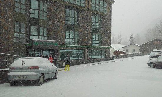 Ansalonga, Andorra: La despedida de unos dias maravillosos rodeados de naturaleza y nieve.