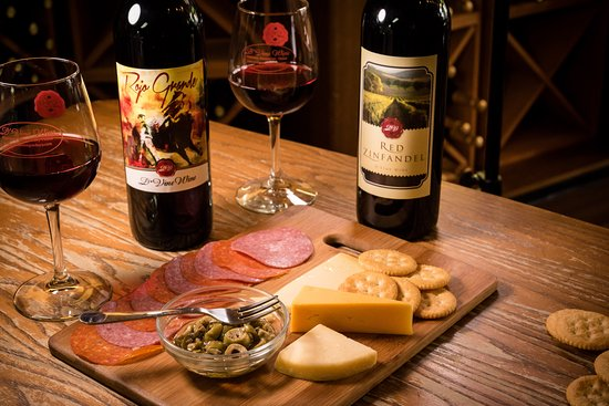Granbury, TX: While you are here enhance your wine tasting with a meat & cheese tray to pair with the wine.