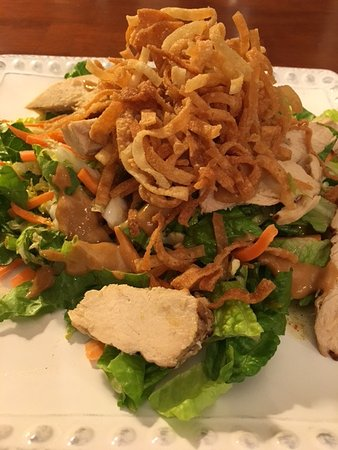 Ellensburg, WA: Thai Chicken Salad