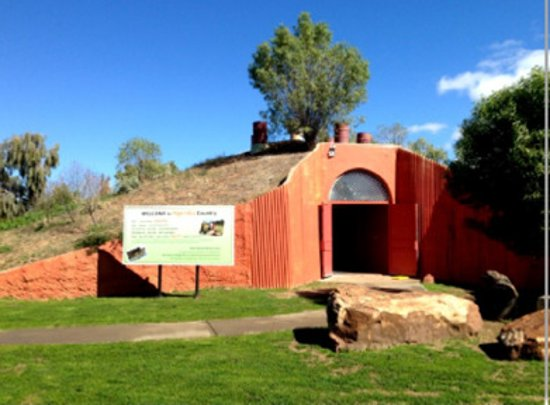 Brewarrina, Australia: The entrance to the Museum