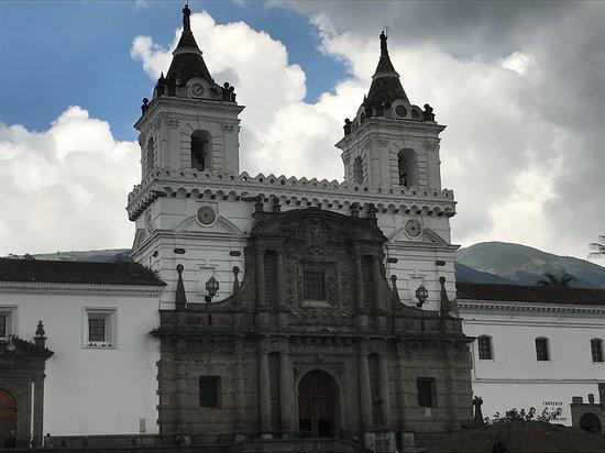 Monasterio de San Francisco: Front of the monastery