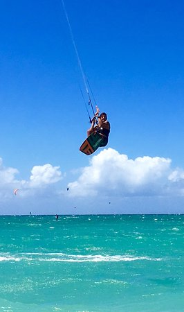 Makawao, HI: A little hang time! Year round tropical climate anytime is a good time to come to Maui! Learn to
