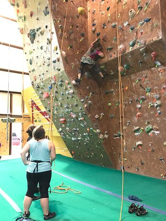 Ascension Indoor Rock Climbing Gym
