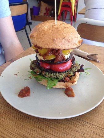 Windsor, Austrália: Veggie Burger!