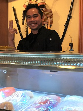 Highlands Ranch, CO: Yandri (Sushi Chef)