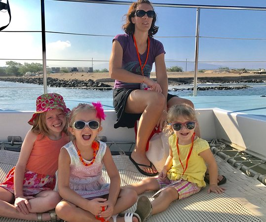 Waikoloa, HI: I've been whale watching probably 10 times but we've never been on a more successful trip.  The