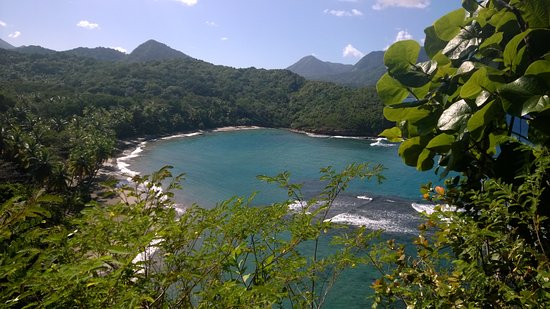 Calibishie, Dominica: Another amazing beach 15 minutes from our property