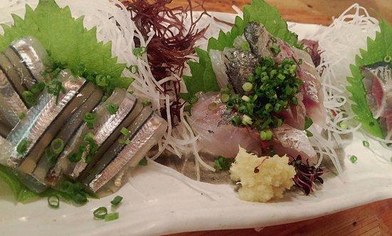 Toranomon Masumoto: 刺身の盛り合わせ