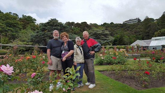 Lower Hutt, Nueva Zelanda: Wellington Highlights Tour included stop at Lady Norwood Rose Garden