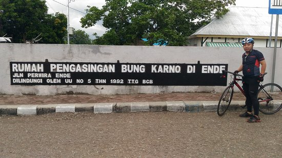 Rumah Pengasingan Bung Karno - Ende 24 des 2016 - Menjelajah Ende