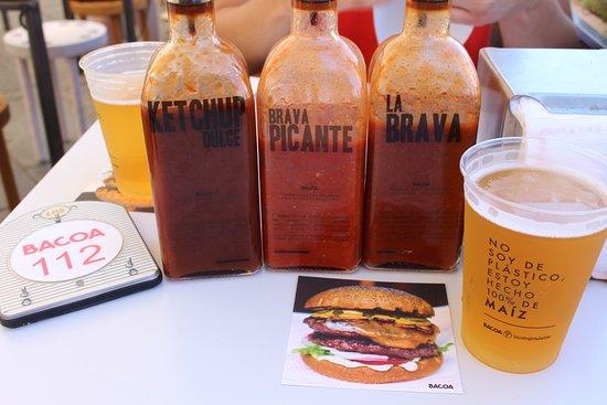 Bacoa: Sauces