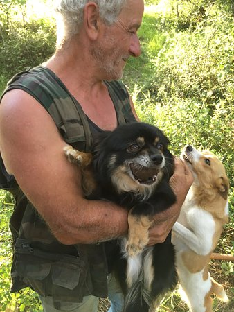 Pescosolido, Italië: Truffle hunting