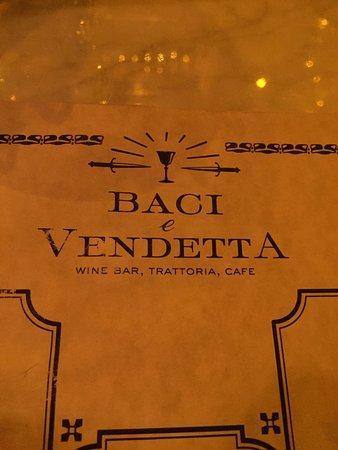 Photo of Italian Restaurant Baci e Vendetta at 131 Avenue A, New York City, NY 10009, United States