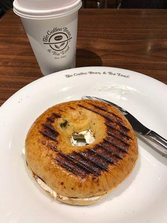 Katunayake, Sri Lanka: It was a bagel..............