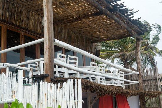 Om Tulum Hotel Cabanas and Beach Club: patio