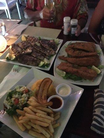Delicious picture of sea salt grill aruba seafood for Sea salt fish grill
