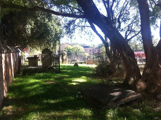 Parramatta, Australia: The grave of the Highwayman and First Fleet convict James Wright, his wife Letitia and daughter.