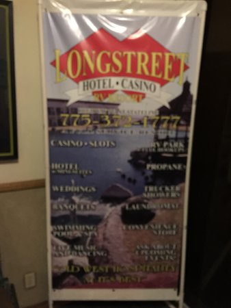 Longstreet Hotel & Casino: Inside