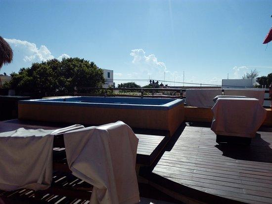 Hostel 3B Chic & Cheap: alberca en la terraza