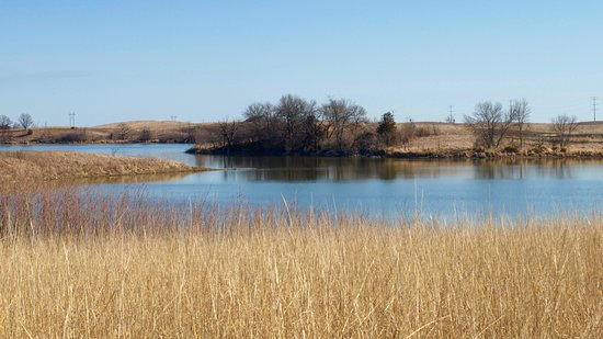 Fergus Falls, MN: Scenery on a hike at the Prairie Wetlands Learning Center